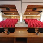 arredi su misura auditorium Campus Biomedico