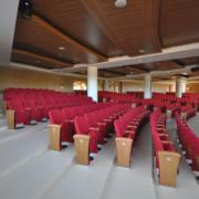 arredi su misura sala conferenze Campus Biomedico