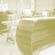 produzione banconi curvi su misura in legno