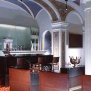 bancone bar e tavoli Hotel Art