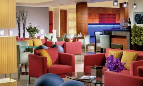bar lounge Visconti Palace Hotel