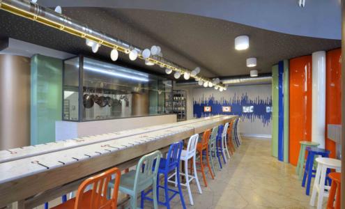 interno ristorante Mediterranean Flavour Berlino