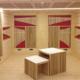 sala di registrazione Santa Cecilia Roma