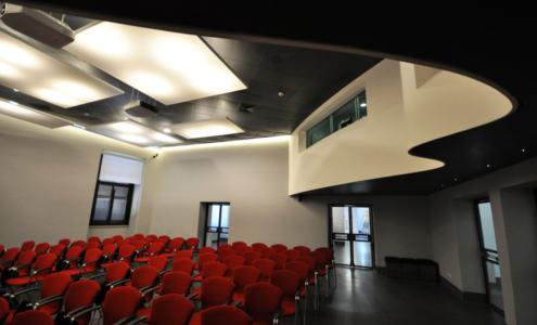dettaglio interni auditorium Museo Nazionale Romano
