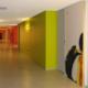 corridoio uffici Nike