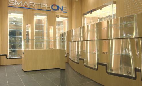 interni negozio Smartphone
