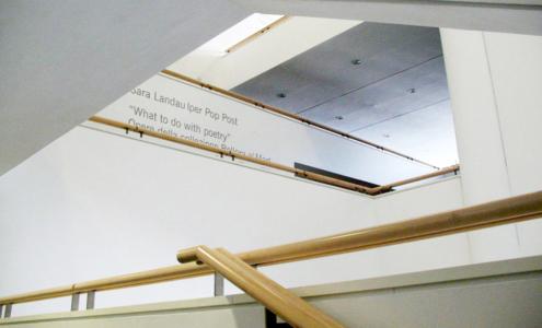 dettaglio interni su misura Mart Museum