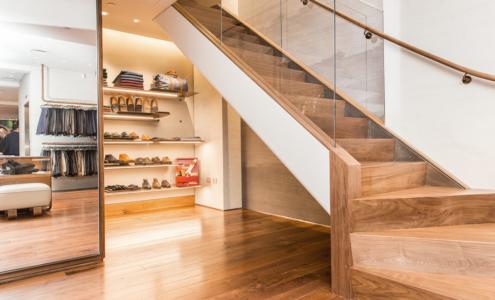 scala in legno boutique Cenci NY