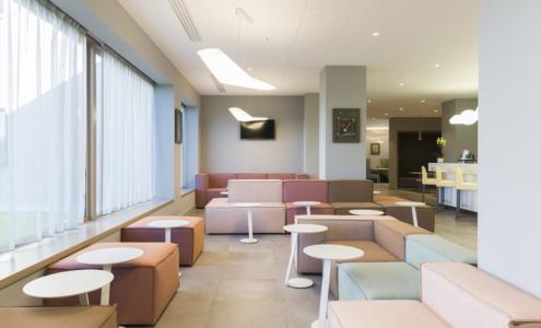 lounge Hampton by Hilton Rome East