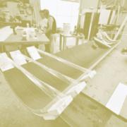 pannello legno curvato
