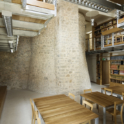 sala principale biblioteca di Bassiano