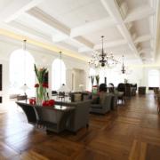 Dettaglio della lounge Gran Melia Villa Agrippina by Devoto