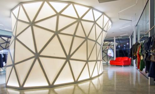 arredi geodetici per interni