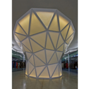 struttura geodetica su misura