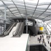 ingresso auditorium Nuvola scale mobili