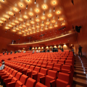 interno auditorium Nuvola