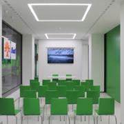 sala riunioni punto Enel Roma