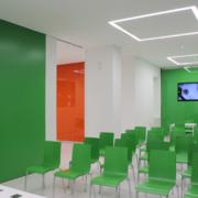 sala conferenze punto Enel Roma