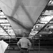 installazione pannelli auditorium Nuvola