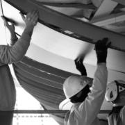installazione pannelli di rivestimento curvi