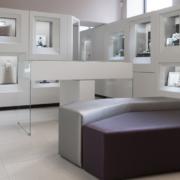 interno gioielleria Tittarelli Latina