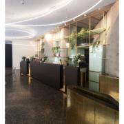 reception desk Hotel Royal Bissolati