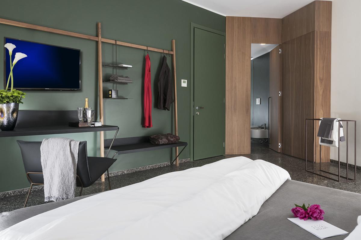 camera da letto Hotel Royal Bissolati
