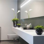 vanity unit for hotel