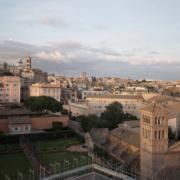 A view of Rome from Palazzo Rhinoceros Devoto Design
