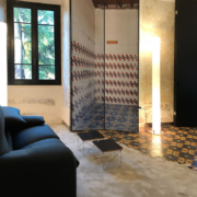 Bespoke fixture and shuutter by Devoto Design for Palazzo Rhinoceros apartment