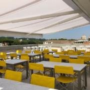 Palazzo Rhinoceros panoramic restaurant view