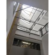 Corte interna Palazzo Rhinoceros restaurata da Devoto Design