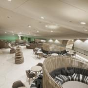 Café 875 National Museum of Qatar delivered by Devoto Design