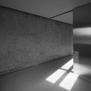 Palazzo Rhinoceros stainless steel furniture installation Devoto Design