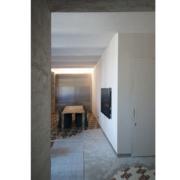 Palazzo Rhinoceros detail of artist study furniture