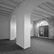 Area espositiva Palazzo Rhinoceros restaurata da Devoto Design