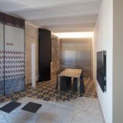 Palazzo Rhinoceros apartment with bespoke shutters and furniture Devoto Design