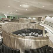 Café 875 National Museum of Qatar by Devoto Design