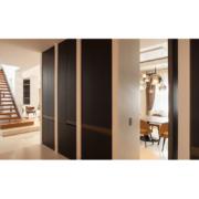 corridor bespoke floor-to-ceiling cabinets