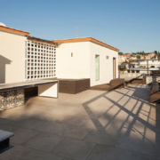private house roof terrace