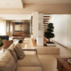 modern and expansive living room