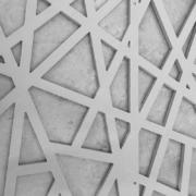 Detail fo CNC-cut light system by Devoto Design