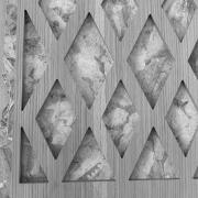 detail of mashrabiya furniture