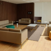 Custom upholstery items for the New Ethiopian Ministry of Finance by Devoto Design