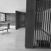 installation of bespoke interiors in wood