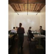 Interni del ristorante Per Me progettati da Alvisi Kirimoto e realizzati da Devoto Design