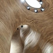 dettaglio soffitto national museum of qatar gift shop