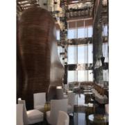 Dettaglio del Vertigo restaurant del Banyan Tree hotel di Doha by Devoto Design