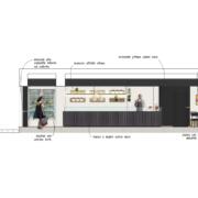 Concept pasticceria Operà a cura di Devoto Design