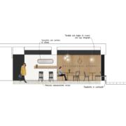 Opera bakery shop concept in Latina by Devoto Design